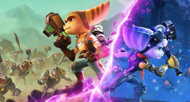 Ratchet & Clank: Rift Apart no será lanzado en PS4 y llegará de forma exclusiva a PS5 en junio, según Insomniac Games./Fuente: Insomniac Games.