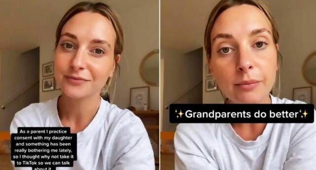 Brittany Baxter se volvió viral en TikTok tras revelar por qué no permite que nadie bese o abrace a su hija.