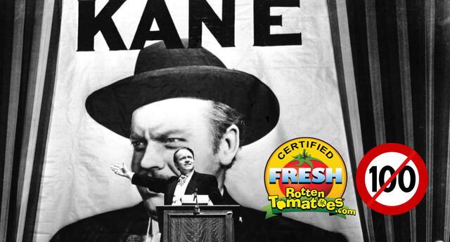 Ciudadano Kane es catalogada como una de las mejores películas de todos los tiempos, pero su calificación perfecta se ha visto reducida en Rotten Tomatoes./Fuente: Mercury Productions.