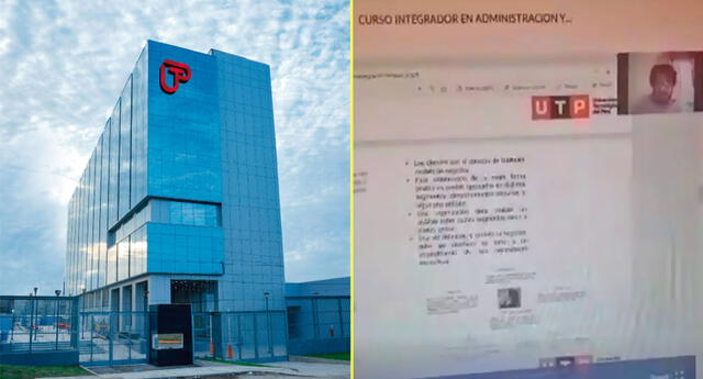 UTP emite comunicado respecto al docente que habló sobre Pedro Castillo.