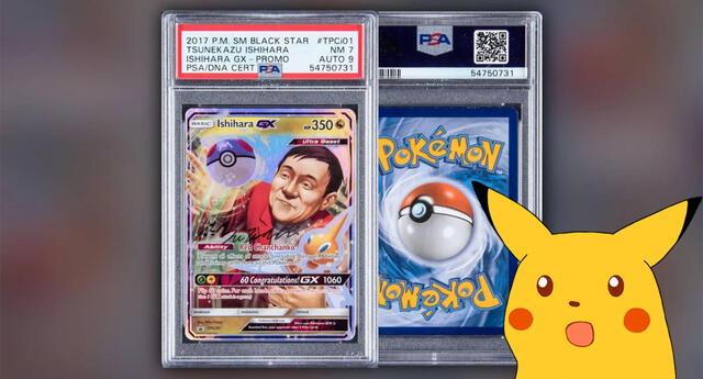 Cara de Pokémon en la que sale el presidente de Pokémon Company vale 250.000 dólares.