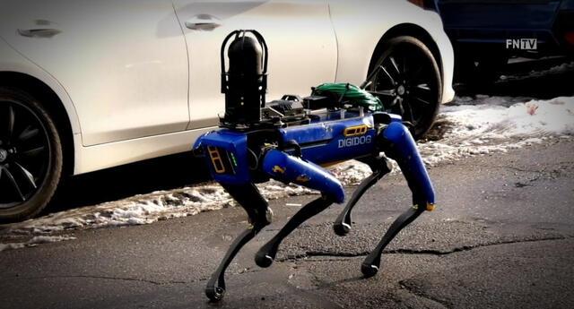 Digidog, el perro robot Spot de Boston Dynamics desplegado por la Policía de Nueva York, será regresado a su fabricante por pobre aceptación por parte de la ciudadanía y políticos./Fuente: Daniel Valls.