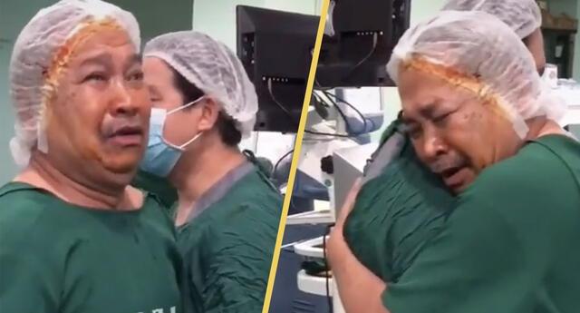 Hombre ciego recupera la vista tras 19 años, gracias a donación de sus vecinos