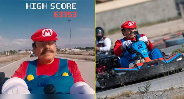 Candidato mexicano se transforma en Mario Bros para su campaña electoral.