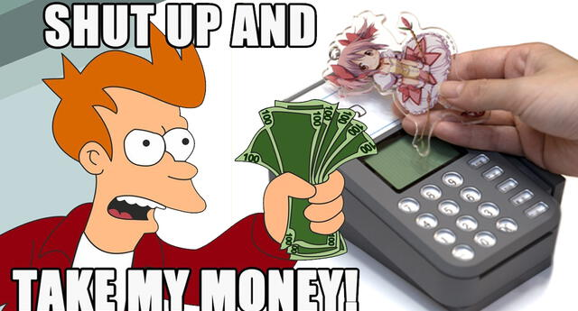 ¡El futuro es hoy! Ahora puedes pagar tus compras con llaveros de tu personaje de anime favorito