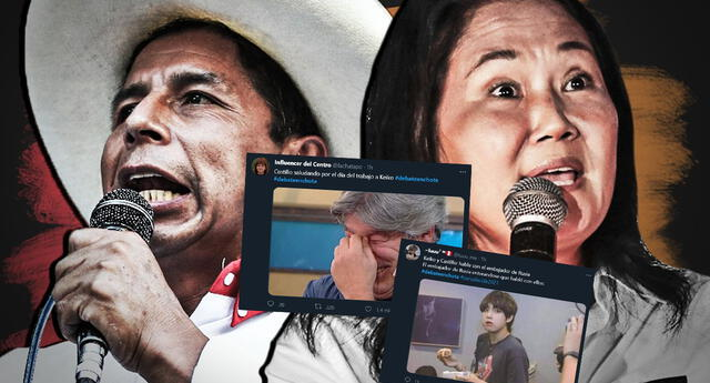 Debate en Chota entre Pedro Castillo y Keiko Fujimori dejó todos estos memes