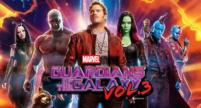 Guardianes de la Galaxia Vol. 3 se estrena el 5 de mayo de 2023.