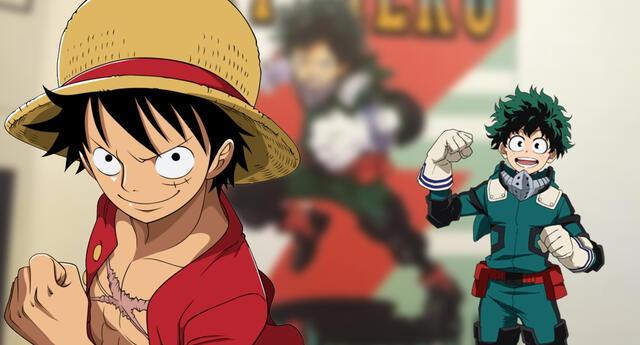 El autor de One Piece dibuja a Deku de My Hero Academia al estilo de Luffy