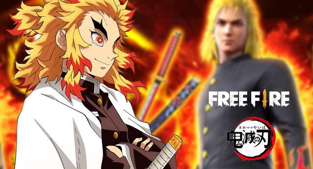 ¡Free Fire arde en llamas! La colaboración del popular juego con Kimetsu no Yaiba ya está disponible