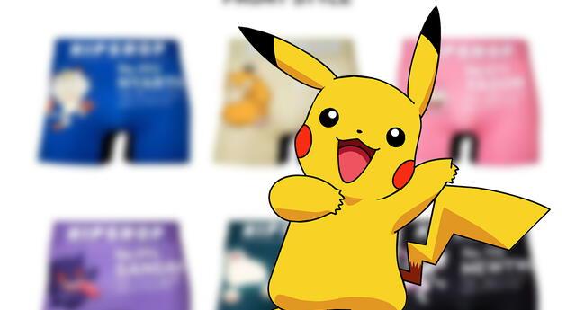 Pokémon estrena nueva línea de ropa interior que los fans desearán tener