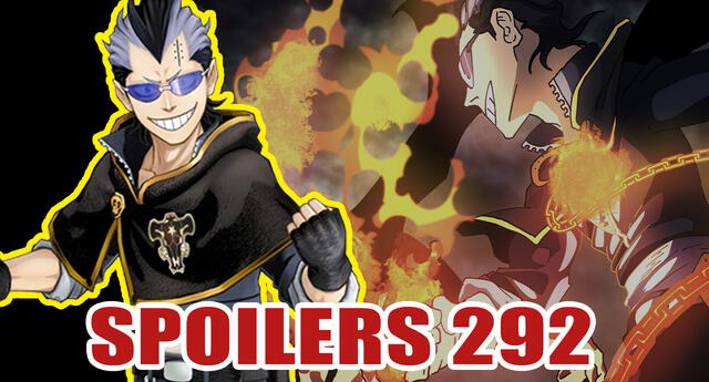 Black Clover spoilers 292: La batalla contra Dante continúa, se revela la nueva técnica de Magna