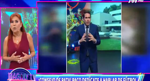 Magaly Medina aconseja duramente a Paco Bazán tras desinformación