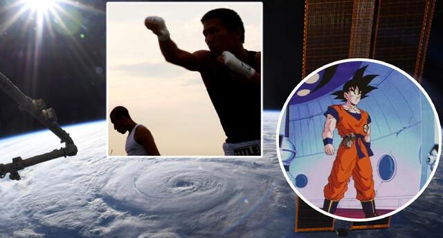 ¡Al estilo de Goku! Empresa crea las peleas de MMA en el espacio y a gravedad cero