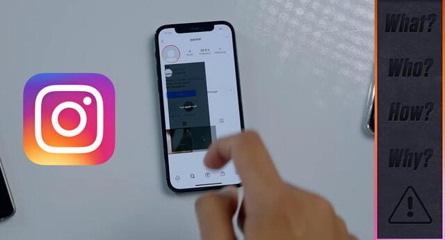 Si ves esta story de Instagram desde un iPhone, este quedará congelado y sin posibilidad de hacer algo de inmediato./Fuente: YouTube.