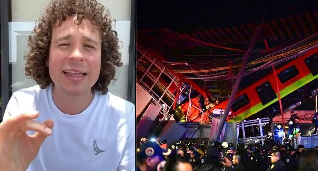 Luisito Comunica está indignado por la tragedia en el Metro.