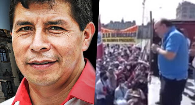 Rafael López Aliaga invoca la muerte de Pedro Castillo en mitin difundido en redes sociales