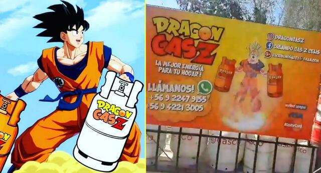 Negocio de gas inspirado en Dragon Ball conmociona las redes.