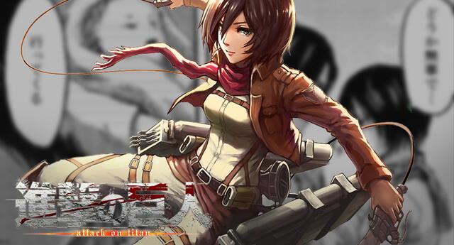 Shingeki no Kyojin: Según filtraciones Mikasa se habría casado al final ¿Con quién se casó?
