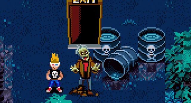 Zombies Ate My Neighbours finalmente estará disponible en consolas de actual generación junto a su secuela Ghoul Patrol./Fuente: LucasArts.