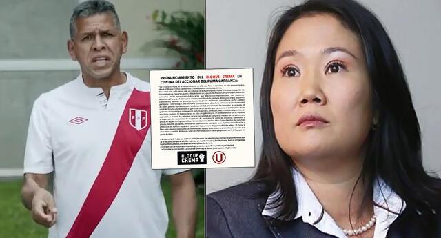 Hinchas de Universitario emitieron un comunicado sobre el spot del 'Puma' Carranza.