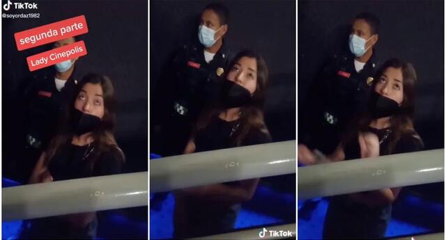 Las mujeres patearon al trabajador de cine por pedirles que bajen los pies de las butacas.