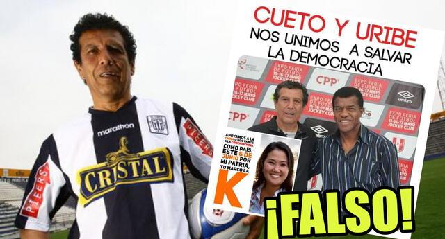 César Cueto desmiente que apoya campaña a favor de Keiko Fujimori y pide no usar su imagen