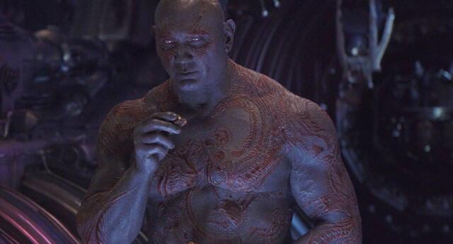 ¿Drax nunca volverá? Batista parece haber terminado con el Guardian de la Galaxia
