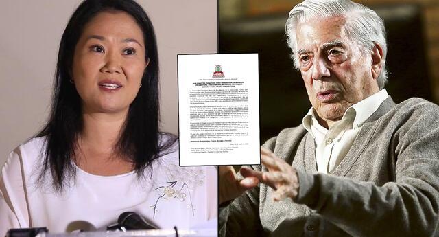 El grupo de profesores de la UNMSM asegura que Vargas Llosa