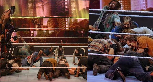 WWE: The Miz es comido por zombies en la