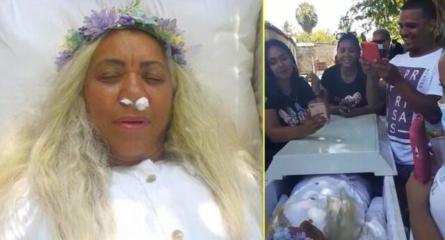 Mujer simula su muerte para saber cómo sería su funeral.