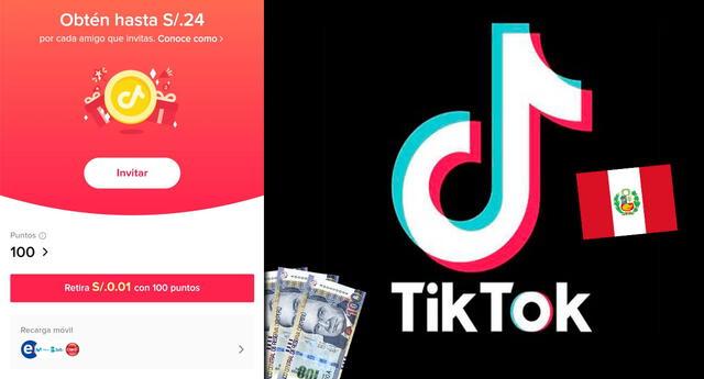 Ya puedes ganar dinero viendo videos en TikTok (Perú).