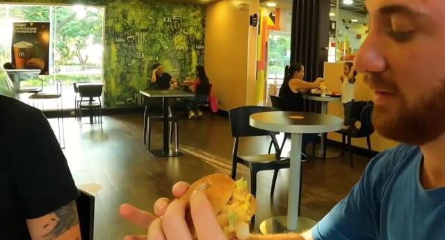 Youtuber visitó el McDonald's más caro del mundo y la comida