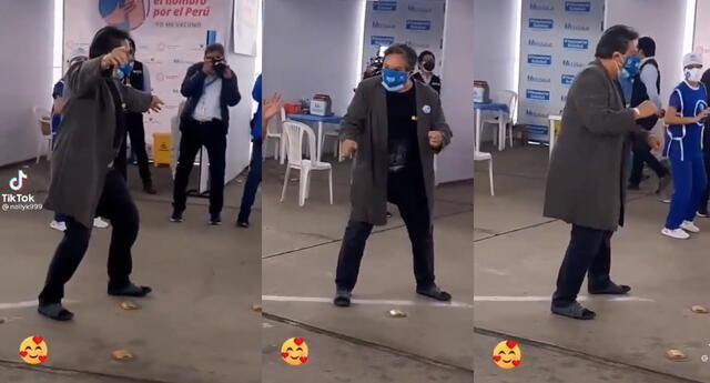 Jimmy Santi baila tras su vacunación y pide a otros artistas no hacer
