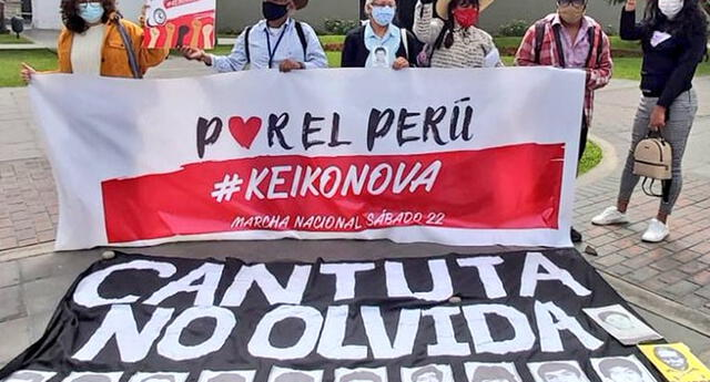 #YoMarcho22M : Víctimas del fujimorato convocan marcha en redes sociales