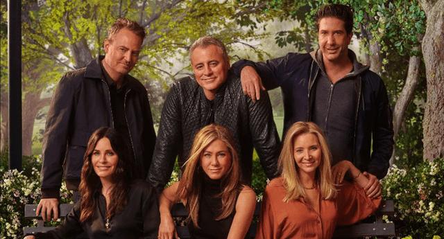 Friends: The Reunion se estrenará el 27 de mayo a través de HBO Max en Estados Unidos./Fuente: HBO Max.