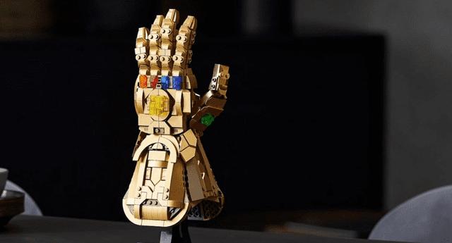 LEGO ha revelado el Guantelete del Infinito para todos los fans de Marvel./Fuente: IGN.