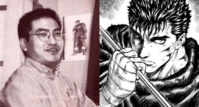 Kentaro Miura, influyente mangaka y creador de Berserk, falleció a los 54 años./Fuente: Composición.