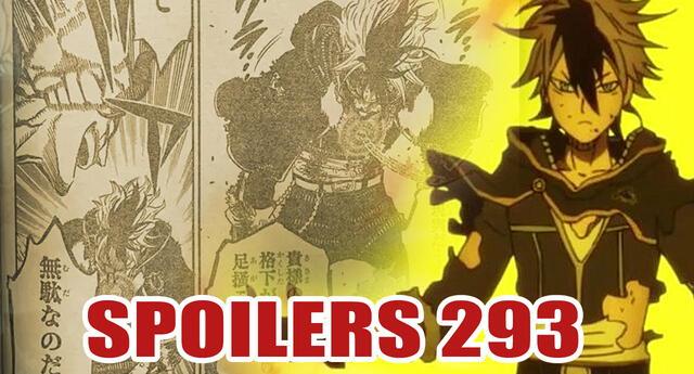 Black Clover 293 Spoilers: ¡Llegando al absurdo! Finaliza la gran batalla entre Magna y Dante