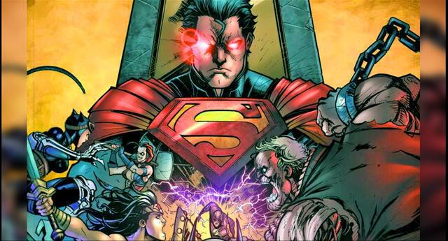 Warner confirma adaptación cinematográfica de Injustice.