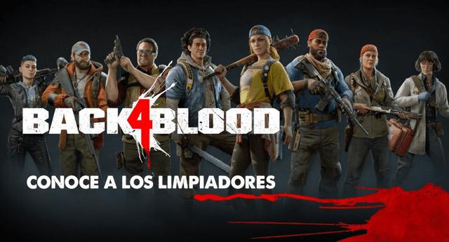 Back 4 Blood, sucesor espiritual de Left 4 Dead, revela a sus personajes./Fuente: Warner Bros Games.