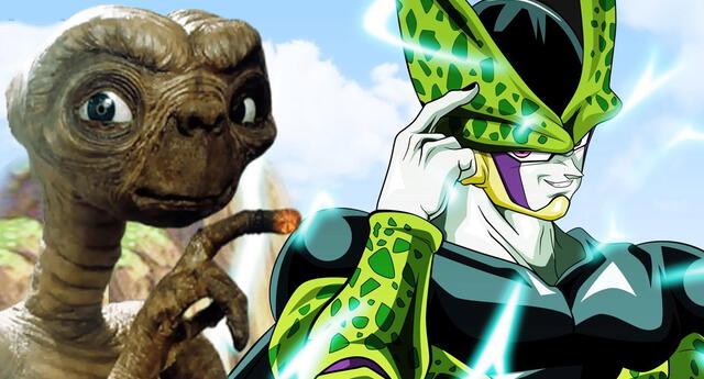 Los primeros bocetos de Cell son parecidos al diseño de E.T.