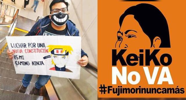 El Frente Otaku Peruano se pronuncia en contra de Keiko Fujimori.