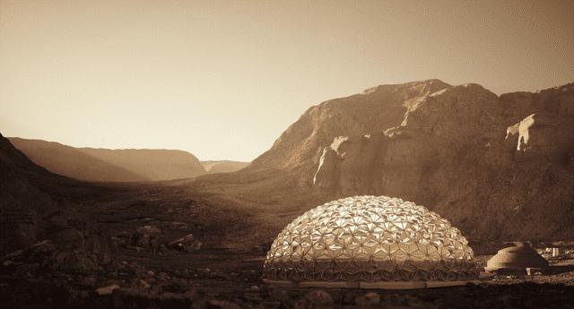Nuwa ha surgido como concepto para la primera ciudad humana de gran capacidad en Marte./Fuente: