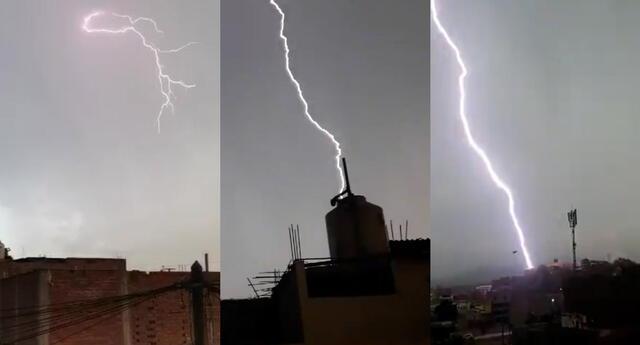Tormenta de relámpagos y truenos sorprende a habitantes de Lima y Callao.