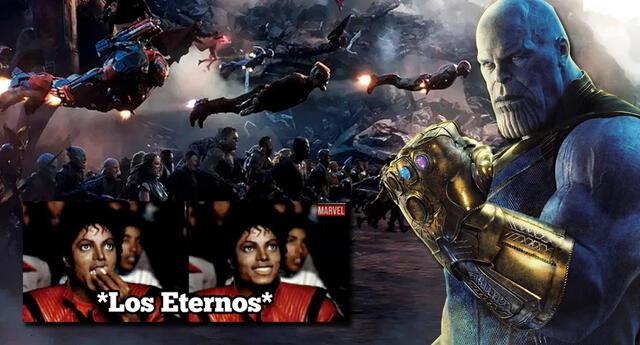 ¿Qué hacían los Eternals cuando Thanos llevó a cabo el chasquido?