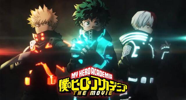 My Hero Academia lanza una nueva imagen oficial  para su nueva película