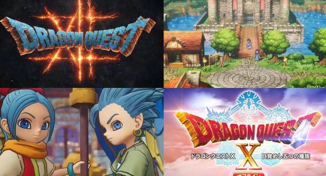 Dragon Quest anunció seis nuevos videojuegos por su 35 aniversario./Fuente: Square-Enix.