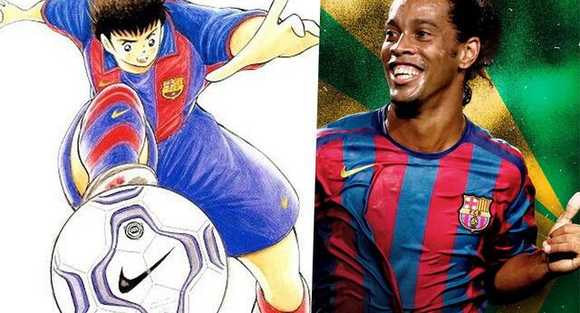 Super Campeones: La vez que Oliver y Ronaldinho jugaron juntos y no te habías enterado