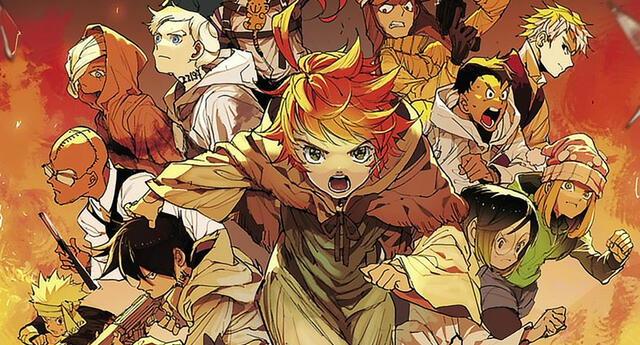 Pese al desastre de la temporada 2, The Promised Neverland entro en el top de ventas de manga