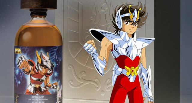 ¿El sabor de los dioses? Saint Seiya lanza su Whisky de Pegaso para los fans